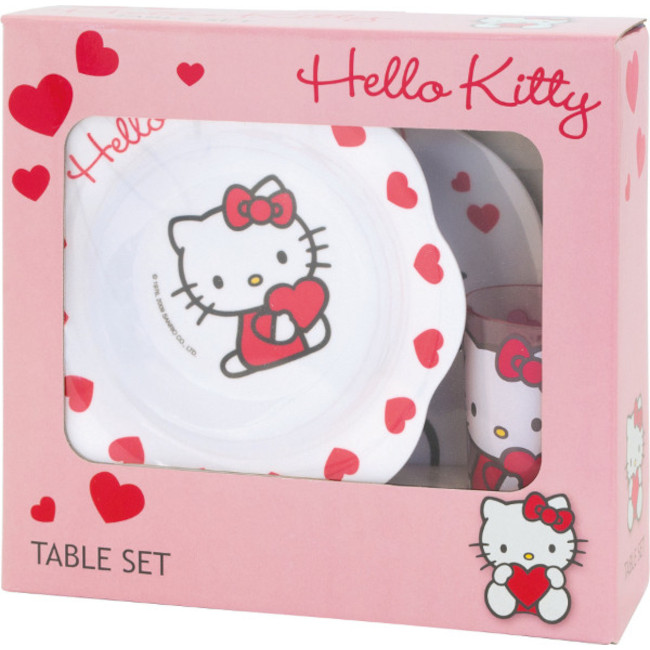 Meal Time Set Hello Kitty 2