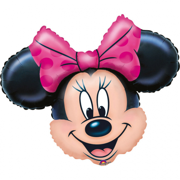 Foil Balloon SuperShape Minnie Mouse