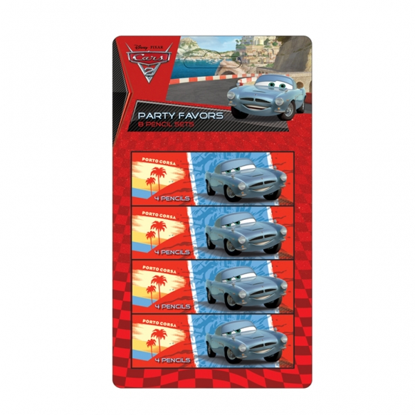 8 Pencils sets ( 4 pencils) Cars