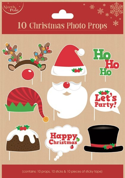 Photo Props Christmas (10pcs)