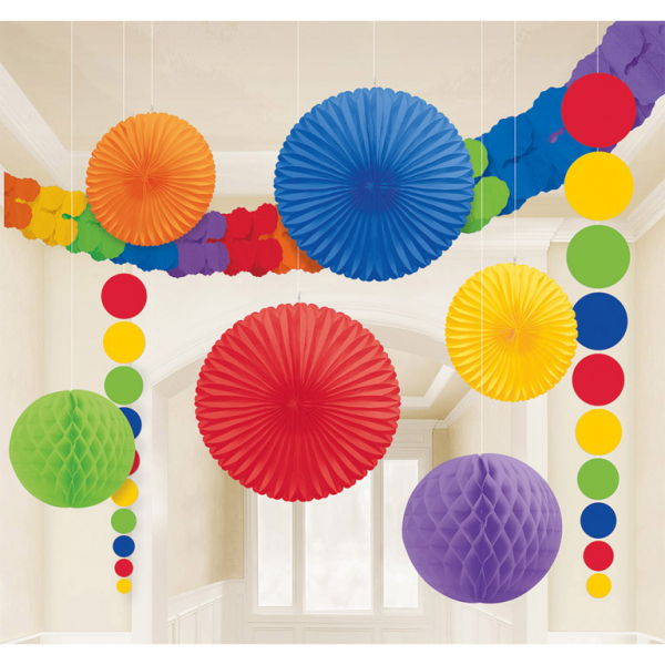 Decorating Kit Rainbow (9pcs)