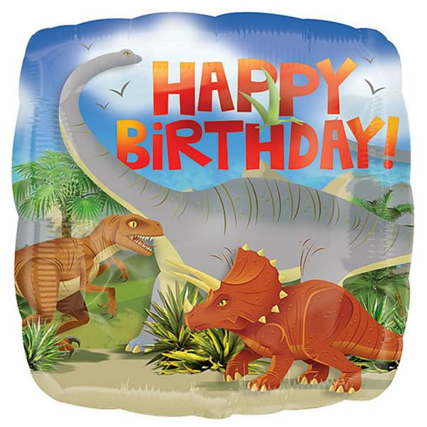 Μπαλόνι Happy Birthday Dinosaurs