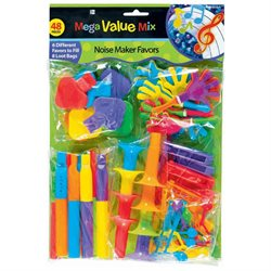 48 Noisemaker Value Pack
