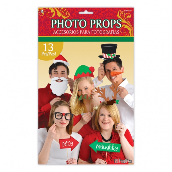 Photo Props Christmas (13pcs)