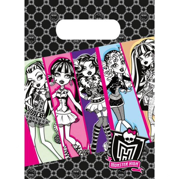 6 Party Bags Monster High