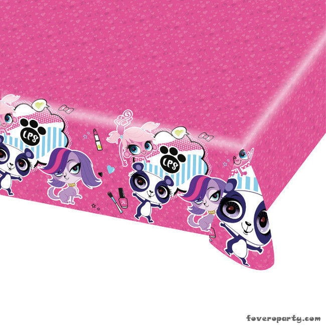 Tablecover Littlest Pet Shop 120X180cm