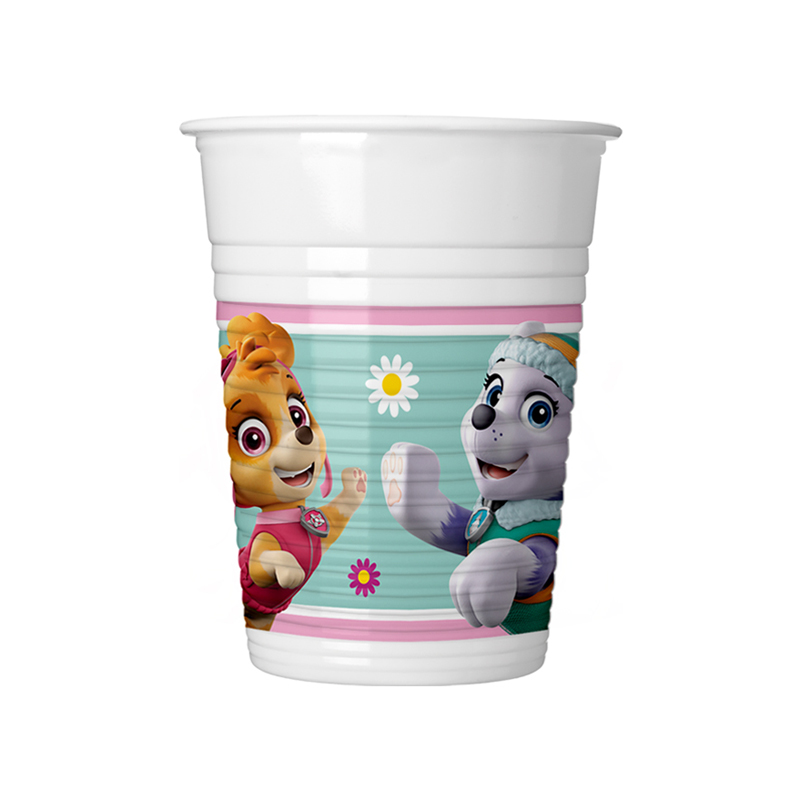 8 Cups Paw Patrol Pink