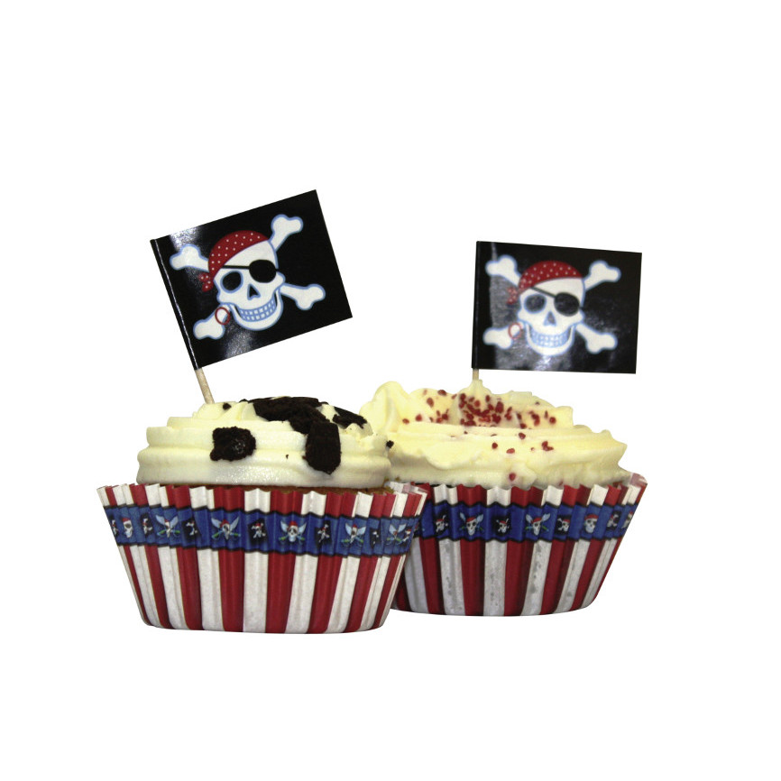 Pirate 48pcs Cupcake kit
