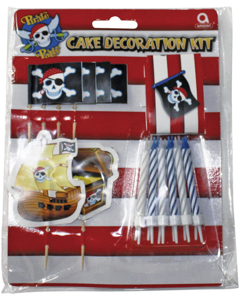 Pirate Cake Decorate Kit [AM995272] - ?2.20 : FoveroParty!