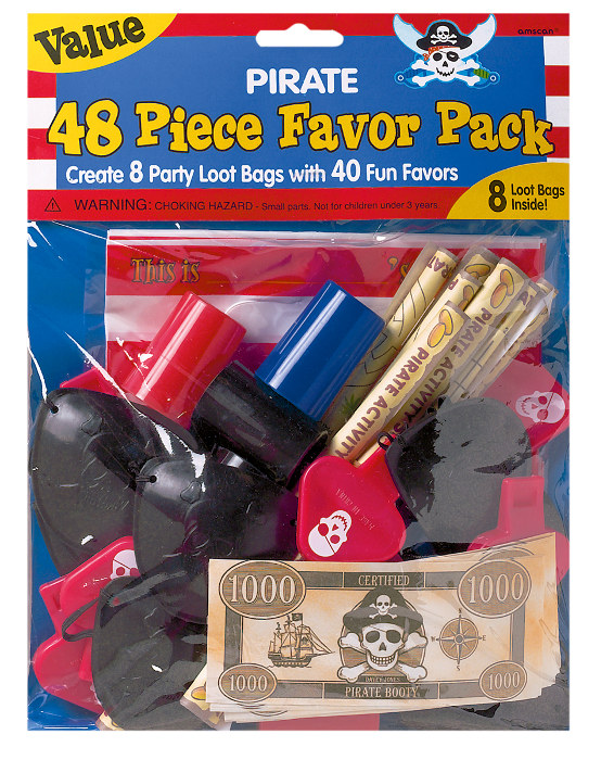 48 Pirate Party Favors