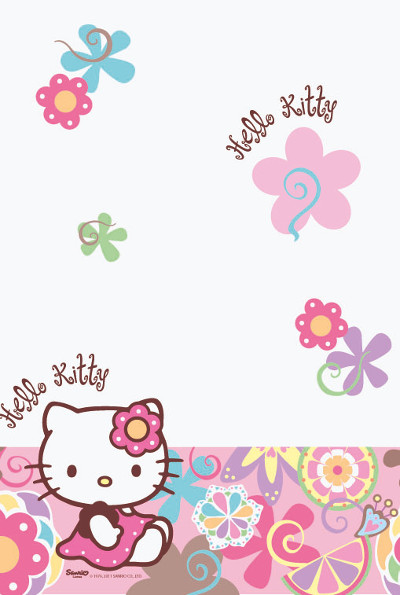 Paper Tablecover Hello Kitty