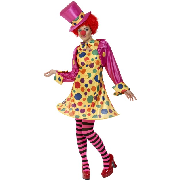 Costume Clown Lady , Multi-Coloured