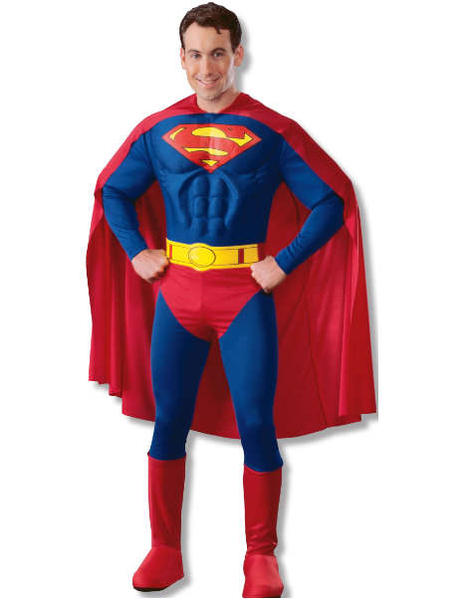 Costume Superman (muscle chest)