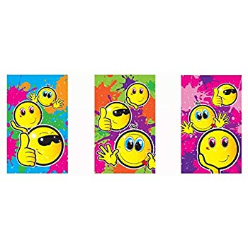Smile Small Notebooks (1pc) Assorted designs 5.5cm X 9cm