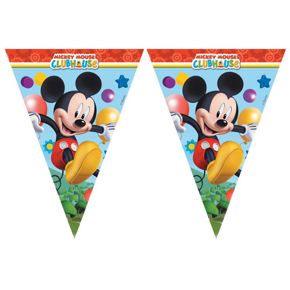 Flag Banner Mickey Mouse Clubhouse