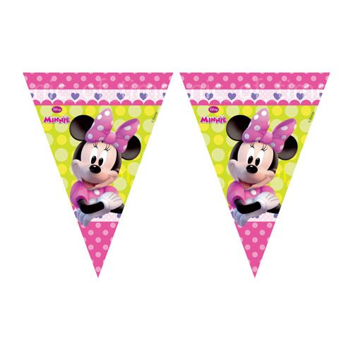 Flag Banner Minnie Mouse Clubhouse