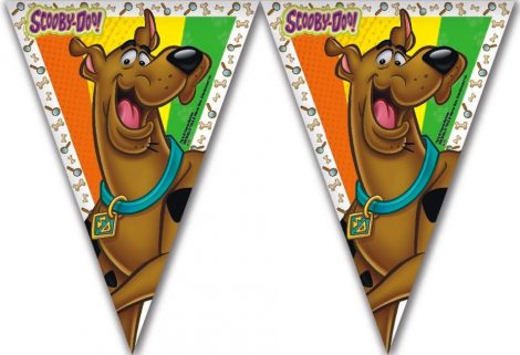 Flag Banner Scoopy Doo