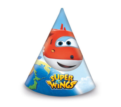 6 Party Hats Super Wings