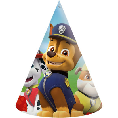 6 Party Hats Paw Patrol