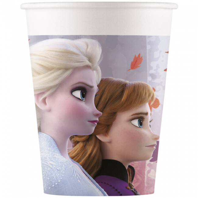 8 Paper Cups Frozen2 200ml
