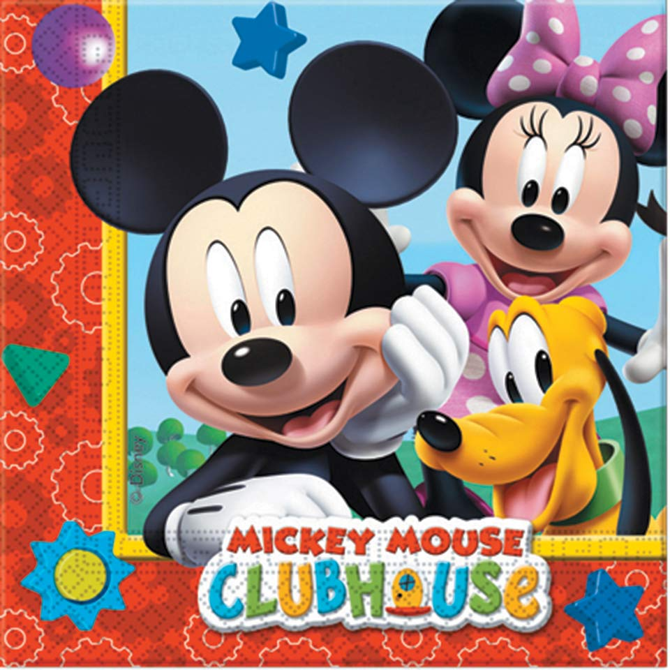 20 Napkins Mickey Mouse Clubhouse 33x33cm 2ply