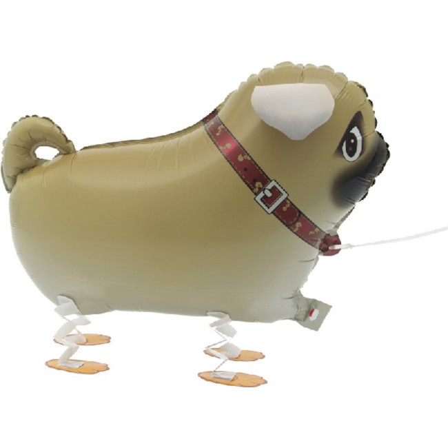 Walking Pet Dog Foil Balloon