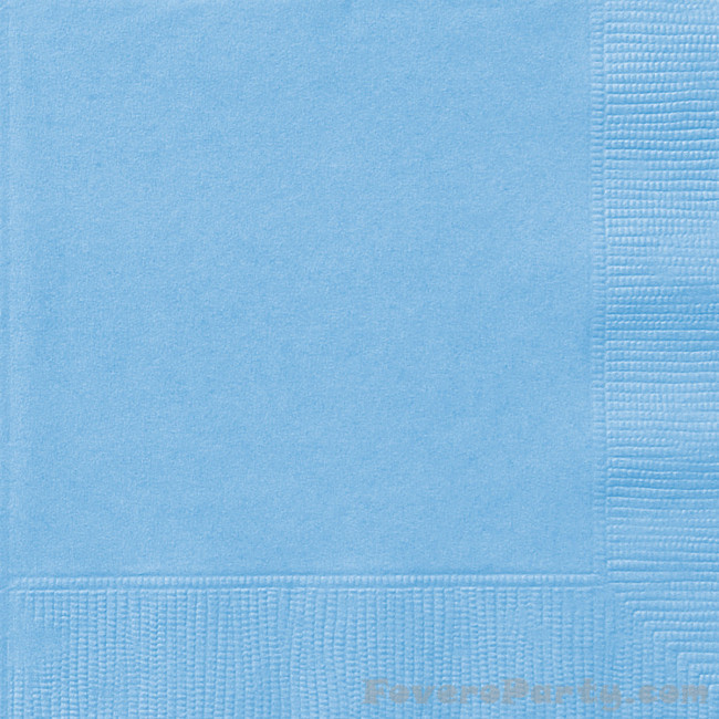 20 Napkins Light Blue 33X33cm