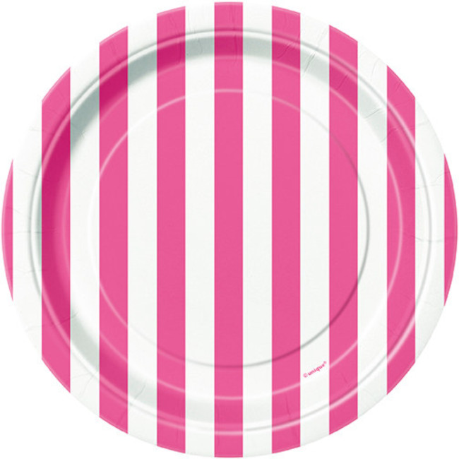 Fuchsia Stripes