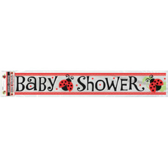 Banner Baby Shower Ladybugs 3.65m