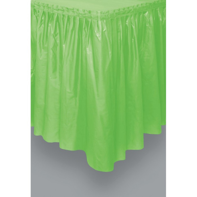 Lime Green Tableskirt 73cm X 426cm