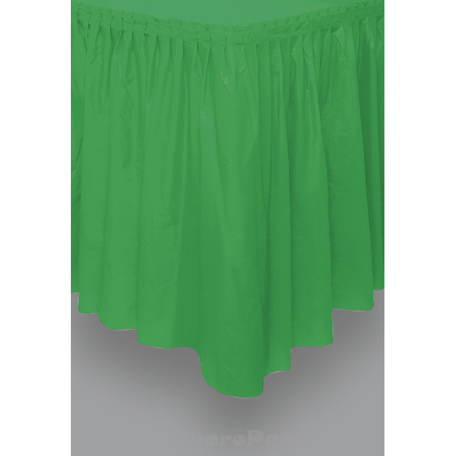 Green Tableskirt 73cm X 426cm