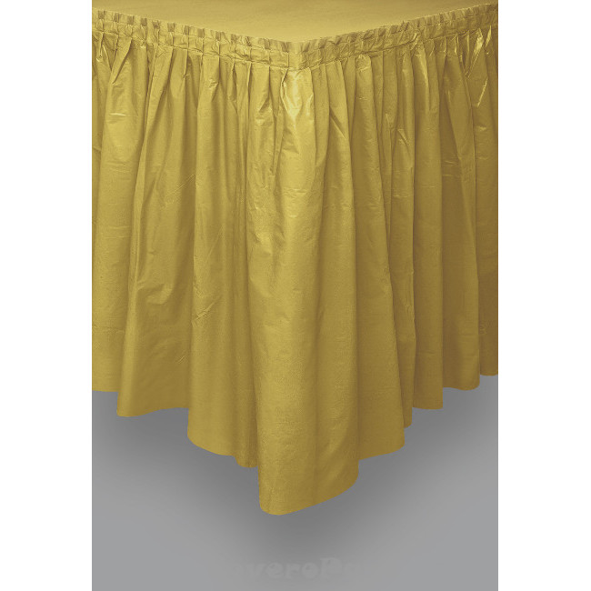 Gold Tableskirt 73cm X 426cm