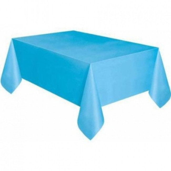 Light Blue Tablecover 134cmX274cm