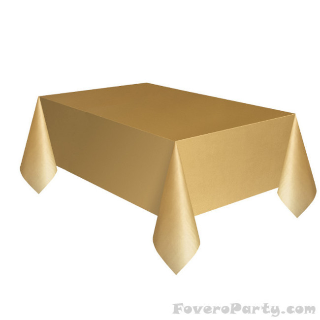 Gold Tablecover 134cmX274cm