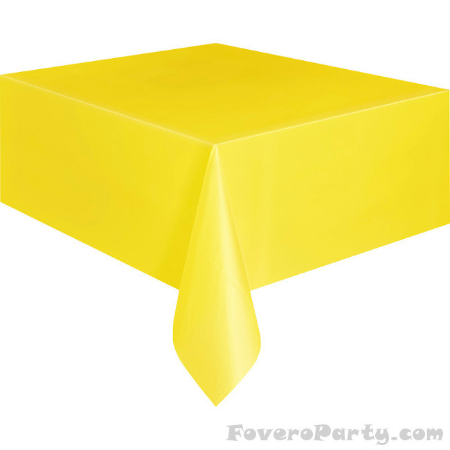 Yellow Tablecover 134cmX274cm