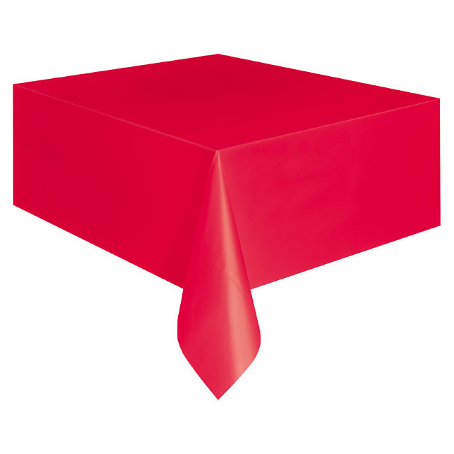Red Tablecover 134cmX274cm