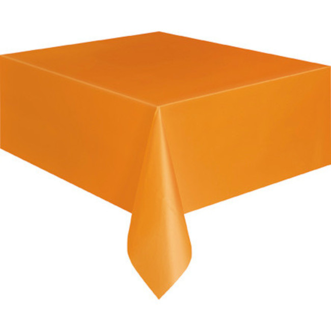 Orange Tablecover 134cmX274cm