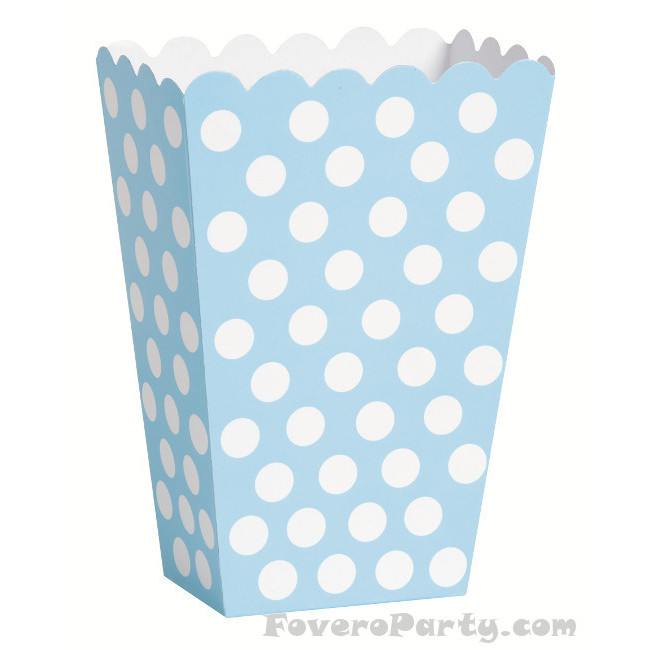 8 Light Blue dots treat boxes