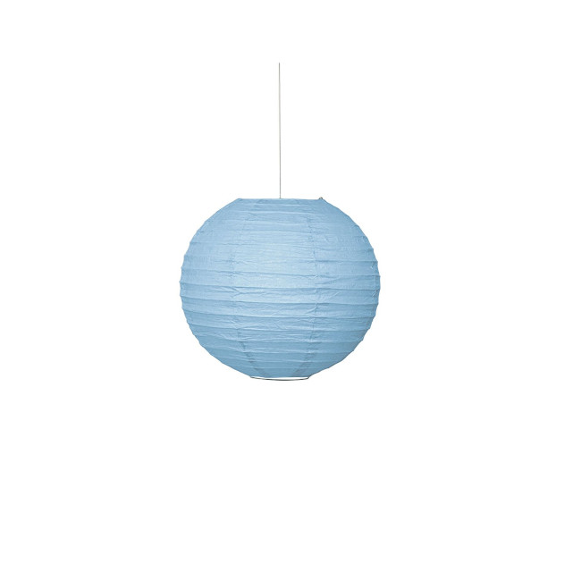 Paper Lantern Light Blue 25.4cm