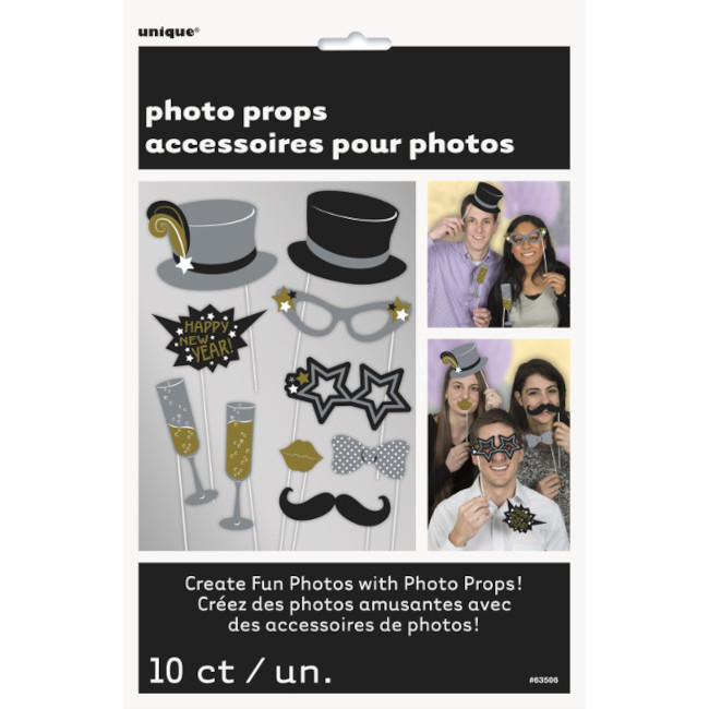 New Year Photo props(10pcs)