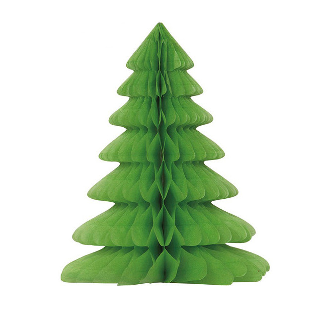 Christmas Tree Honeycomb Centerpiece 30cm