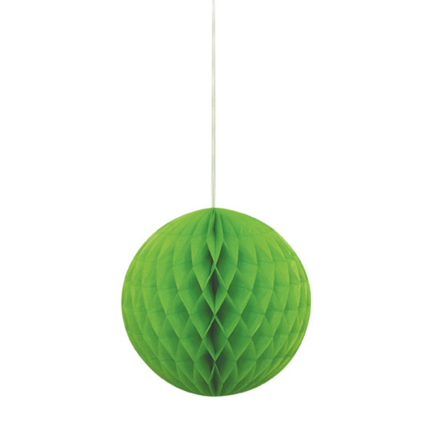 Honeycomb Ball Lime Green 20.3cm