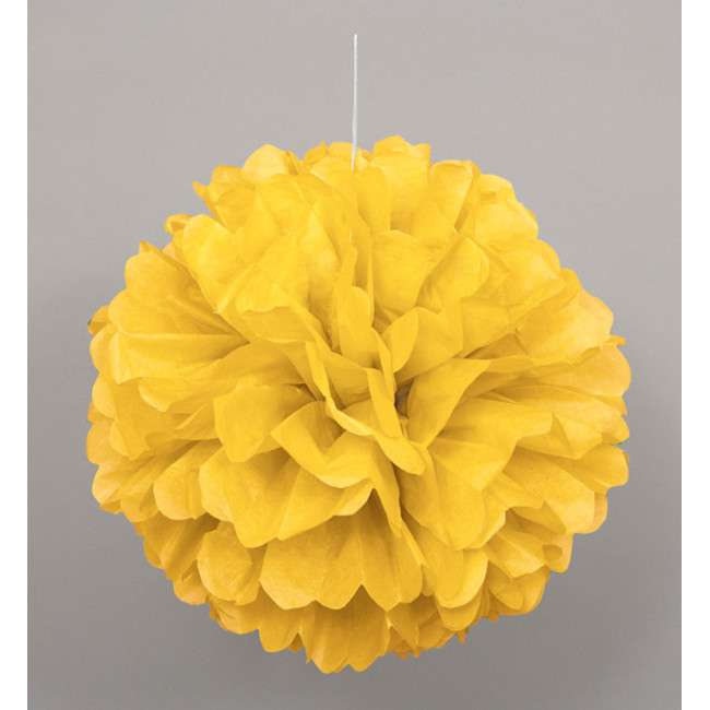 Puff Ball Yellow 40cm