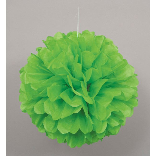 Puff Ball Lime Green 40cm