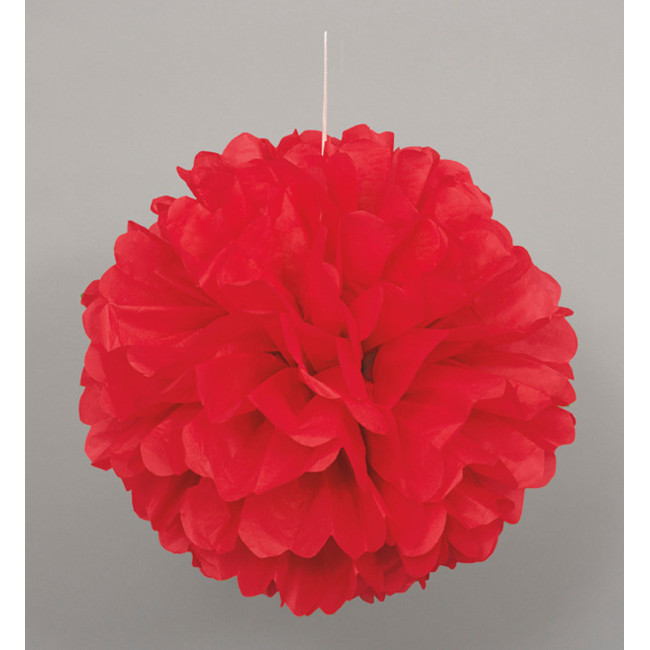 Puff Ball Red 40cm