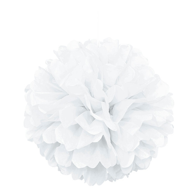 Puff Ball White 40cm