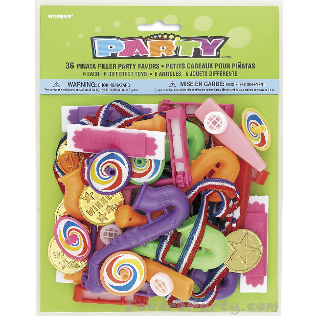 36 Various Favors/Pinata fillers