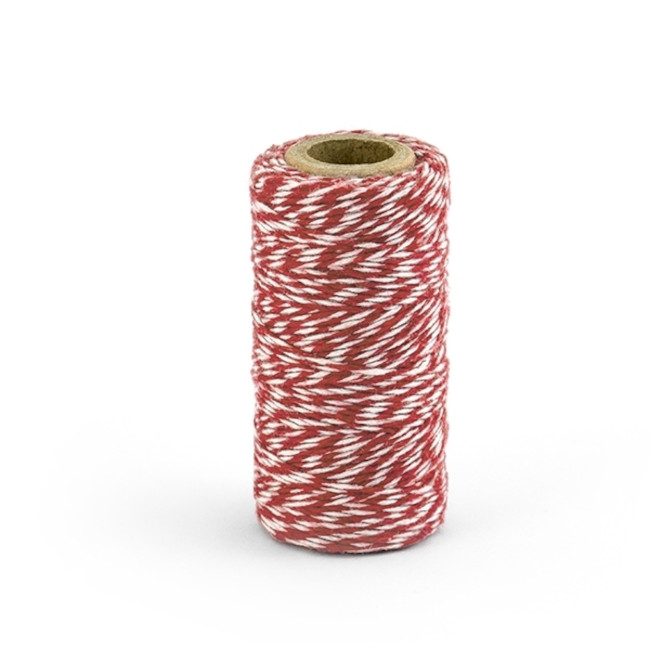 Baker's Twine Red 50m