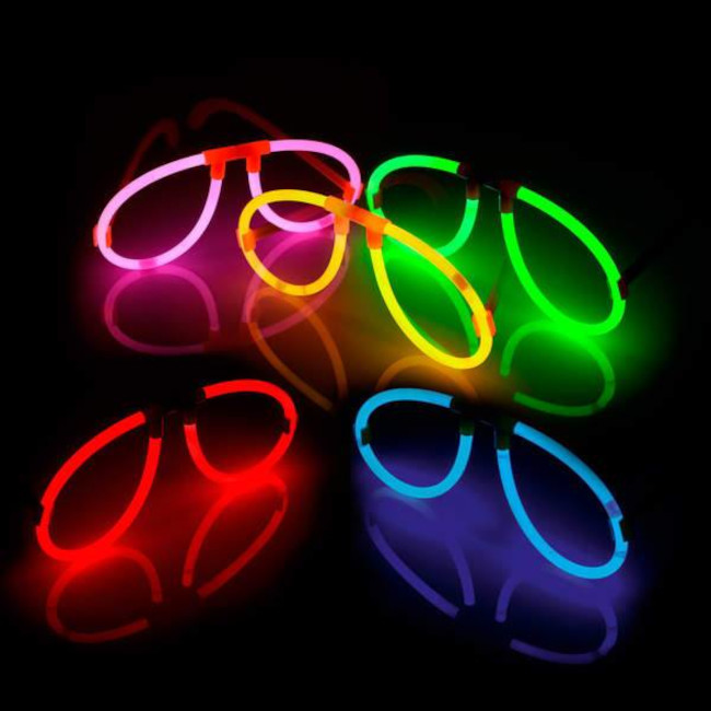 Glowstick Glasses (blue)