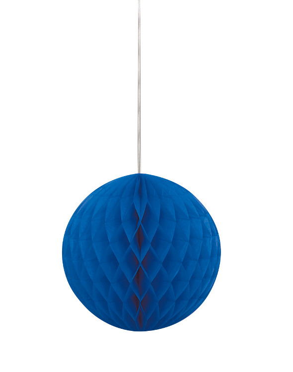 Honeycomb Ball Blue 20.3cm